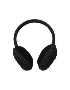 POWDER ROOM EAR MUFFS BLACK